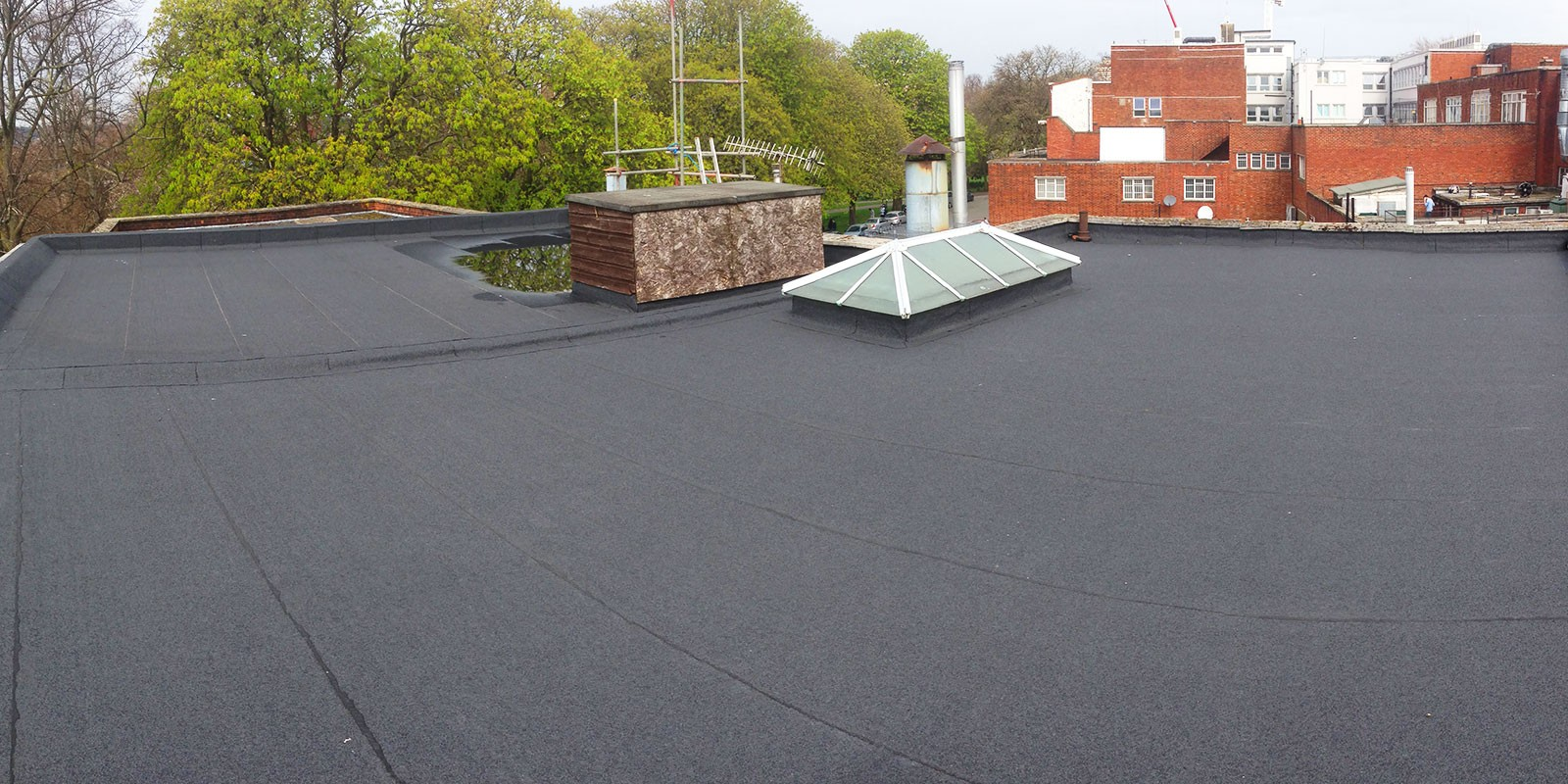 Flat roofing<br>in Bristol